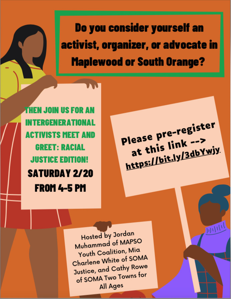 Intergenerational Meet & Greet + Panel Discussion with MAPSO Youth Coalition and SOMA Justice