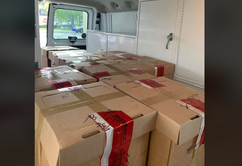 More than 200 Pounds of Prescription Drugs Collected From Homes in Coral Springs Event