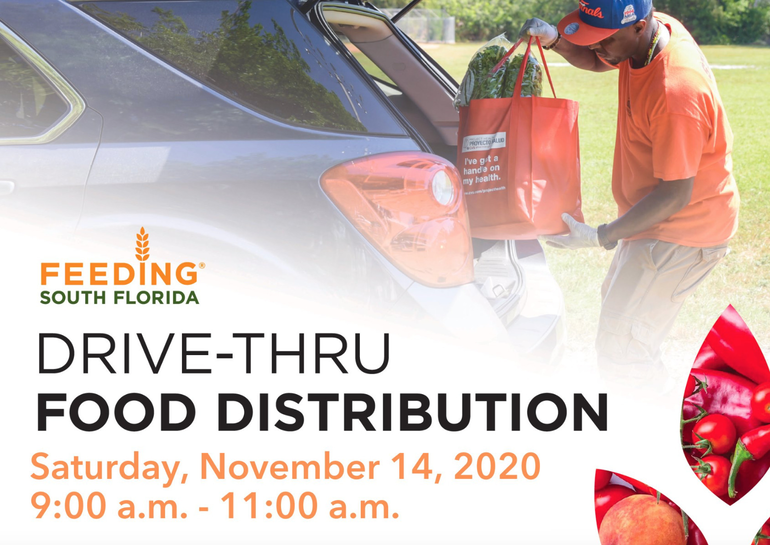First Church Coral Springs Organizes Drive-Thru Food Distribution on Saturday