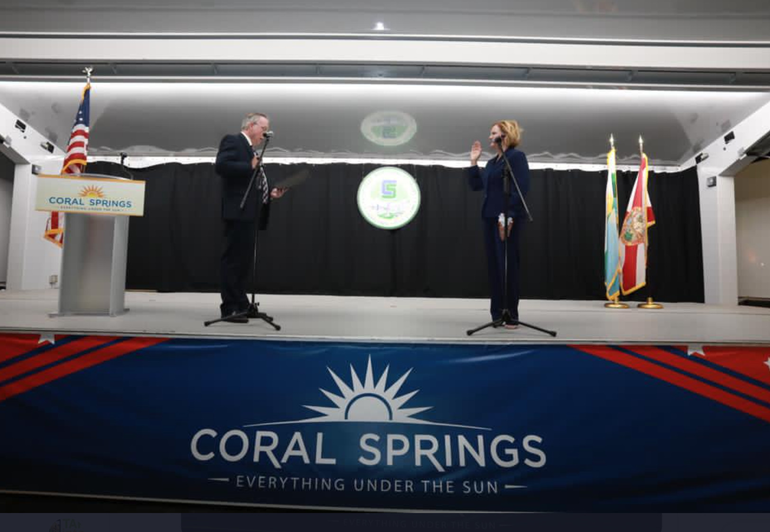 Coral Springs Commissioners Sworn-in With Messages of Inclusion and Engagement
