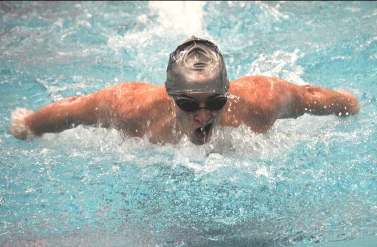 Scotch Plains-Fanwood swimmer Matt London wins the 100 Butterfly vs. Oratory.png