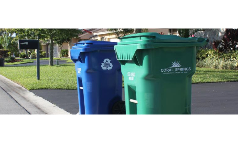 Coral Springs Officials: Delays in Trash and Recycling Pickups Result of Coronavirus and Recent Hurricane