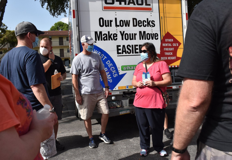 Coral Springs Widow Needed Help Moving. So Police Responded.