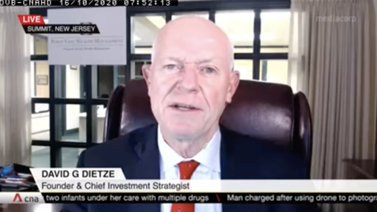 VIDEO: As Stimulus' Stall, Election and COVID-19 Plague Economic Outlook, Point View's Dietze Says Investors 'Need to Hang In There'