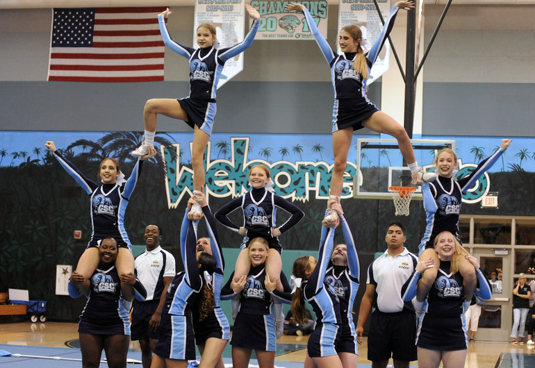 Coral Springs Charter School Takes 9th in Cheer Nationals