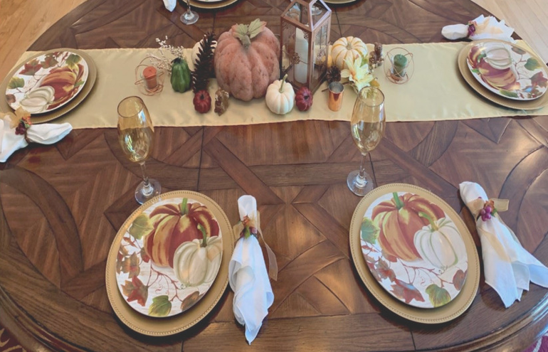 "Vote for Your Favorite ""Tablescape"""