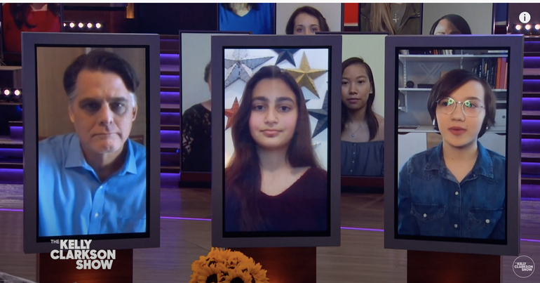 Maplewood Middle School Program Featured on The Kelly Clarkson Show