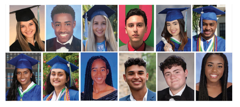 2020 MLK Scholarship Recipients