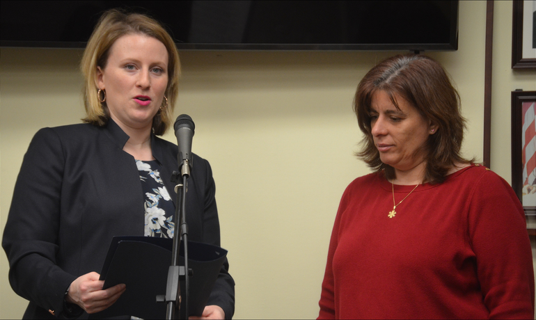 Scotch Plains Councilwoman Elizabeth Stamler and Melissa Padulsky of Little Hearts Big World.png
