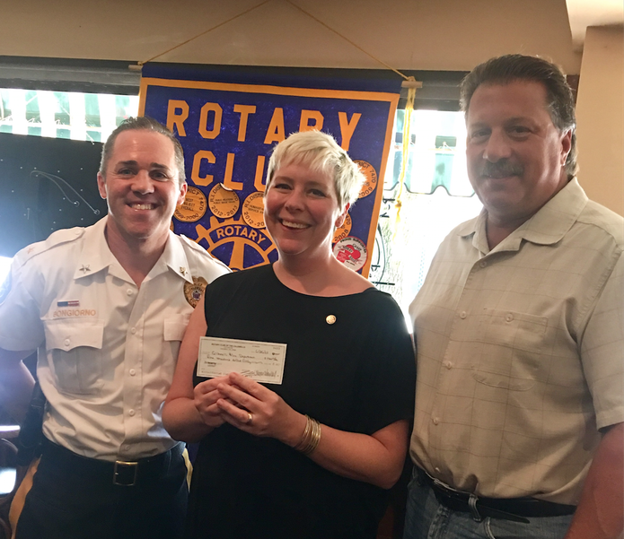 Rotary Club Donates Funds to Caldwell Police to Purchase Drone