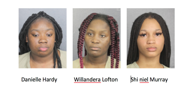 Four Women Accused of Stealing From Coral Springs Store and Pepper Spraying Man