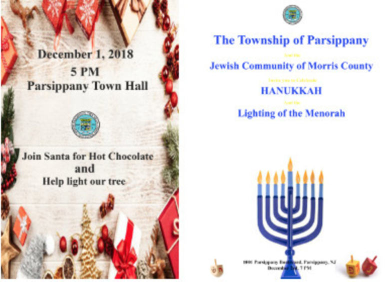 Parsippany Holiday Happenings