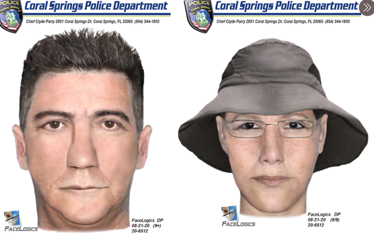 Coral Springs Police Look For Suspects Who Conned Victim Out of Money In Lottery Scheme