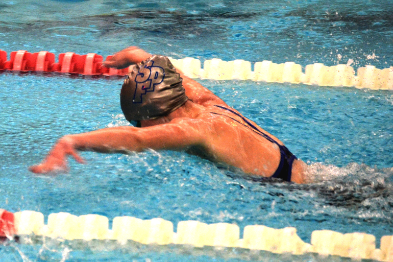 Scotch Plains-Fanwood's Lily Hughes won the 100 Butterfly.png