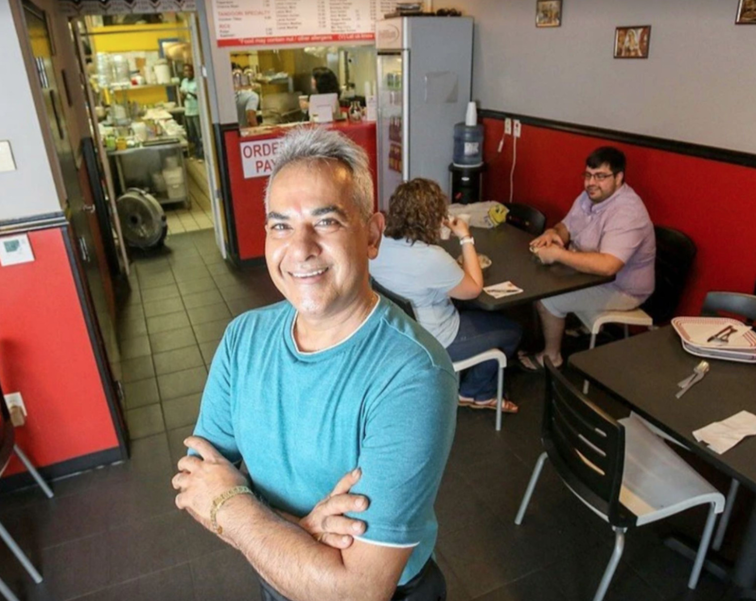 Arun Sareen, owner of Aruns Indian Kitchen in Coral Springs.