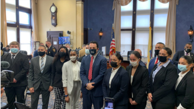 In Swearing in Sayegh Asks 'Determined Dozen' to Keep Paterson Safe