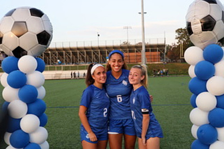 Scotch Plains-Fanwood senior captains Faith Price, Corinne Lyght, and Holly Nelson.png