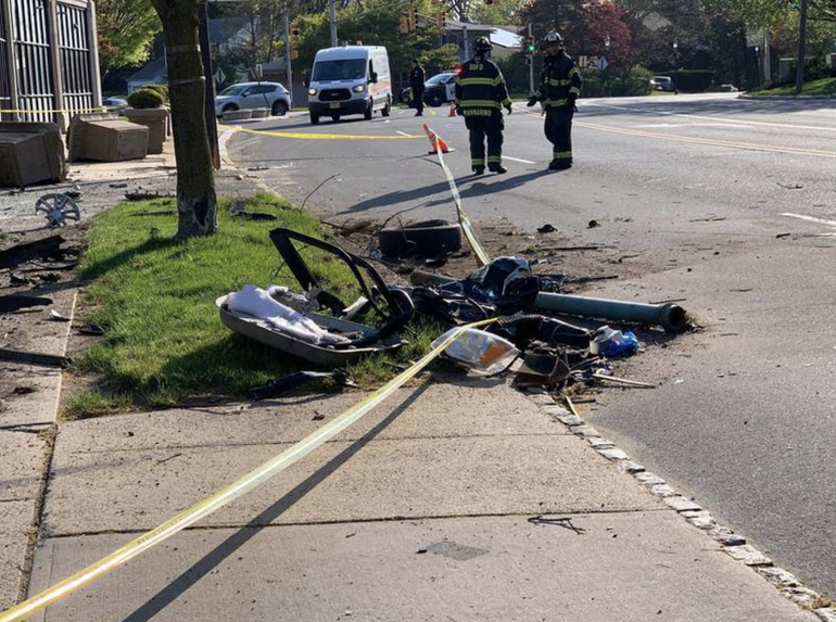 Investigation of Single Car Crash in South Orange Goes to Prosecutor's Office