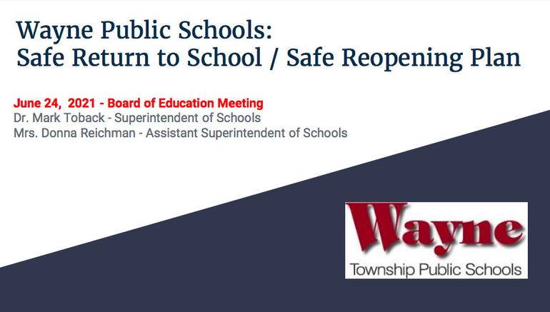 Wayne Schools Want Feedback on Return to School Plan