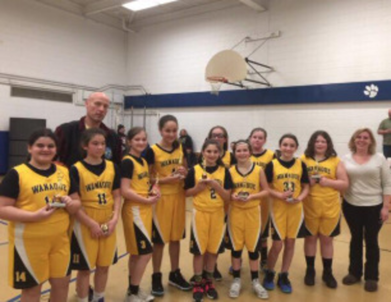 Wanaque 2nd place 5th grade