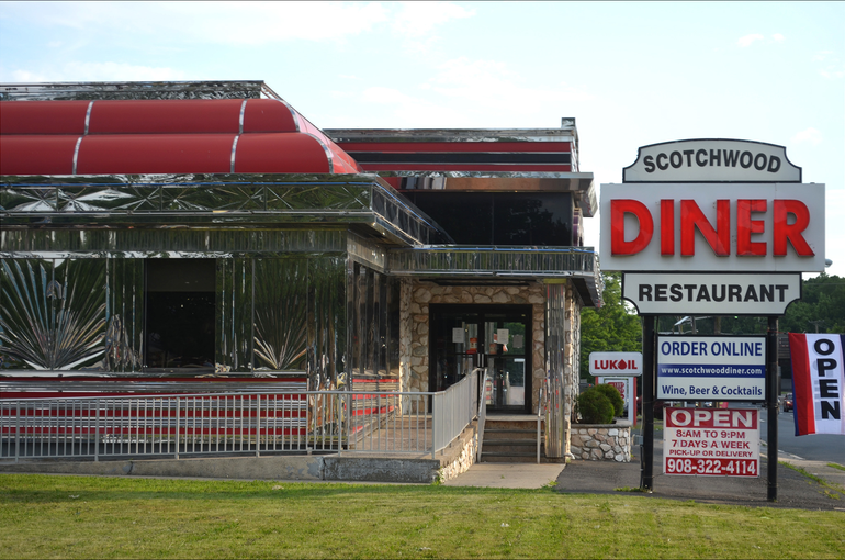 Scotchwood Diner on Route 22 in Scotch Plains.