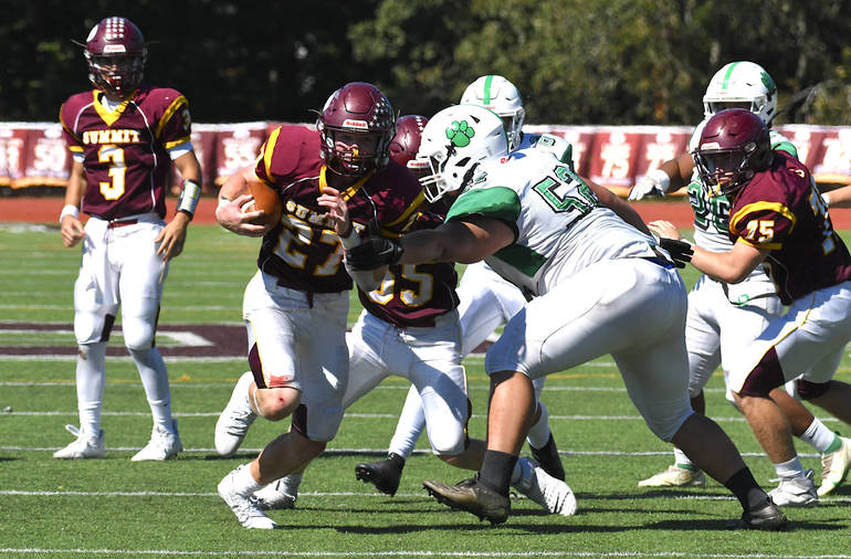 Summit High School Football Colin Beatty