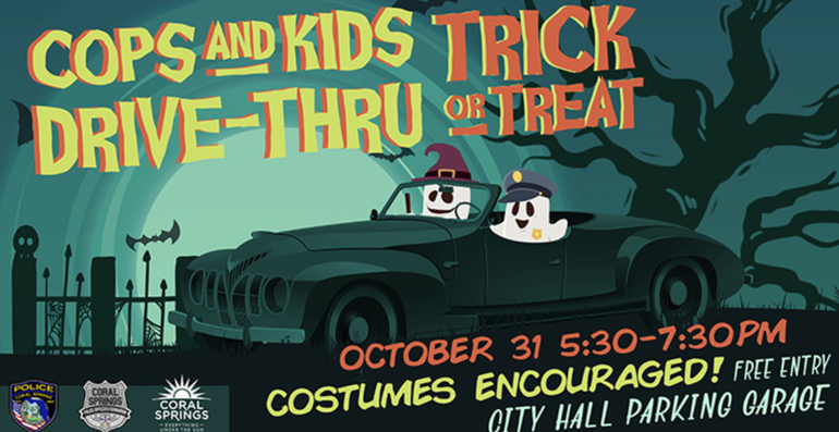 Halloween Event: Coral Springs Police Will Give Out Candy To Children