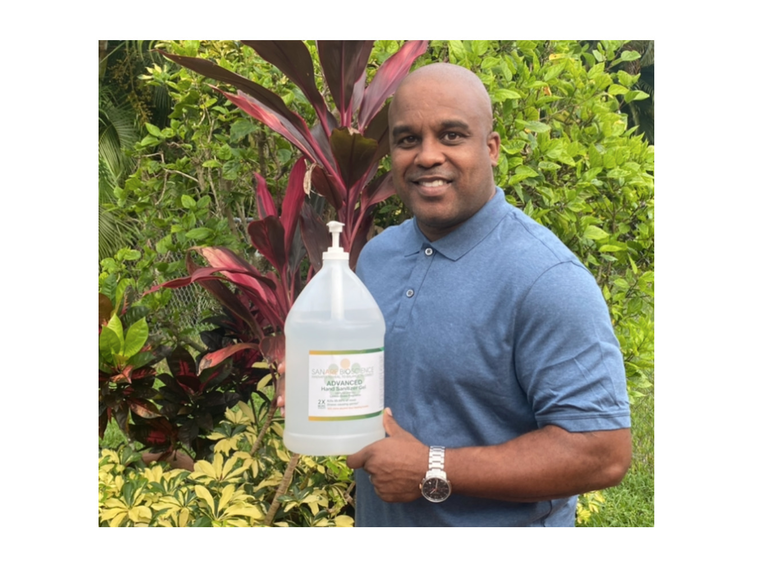 Coral Springs Entrepreneur Launches New Hand Sanitizer Product, Pharmaceutical Research Firm