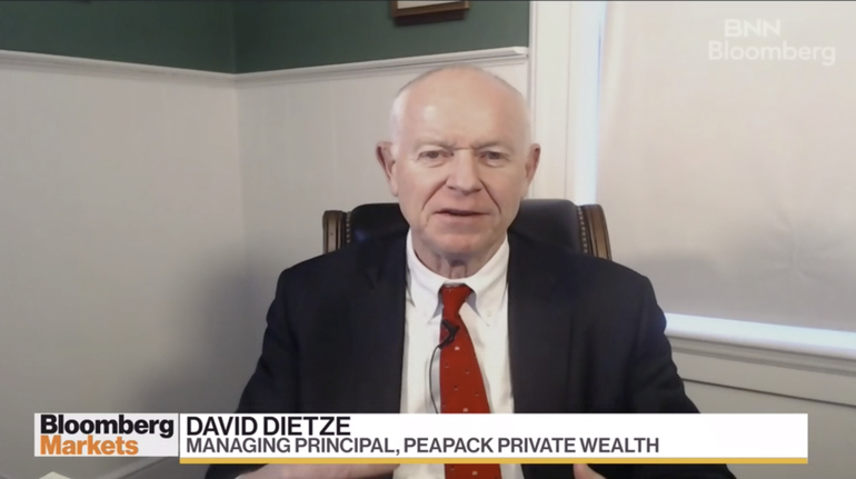 VIDEO: Peapack Private Wealth's Dietze Says Exxon is 'Quintessential Pandemic Recovery Play'