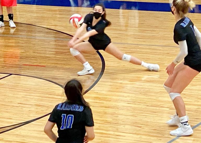 Scotch Plains-Fanwood girls volleyball player Tori Cirillo had 5 digs vs. Colts Neck.