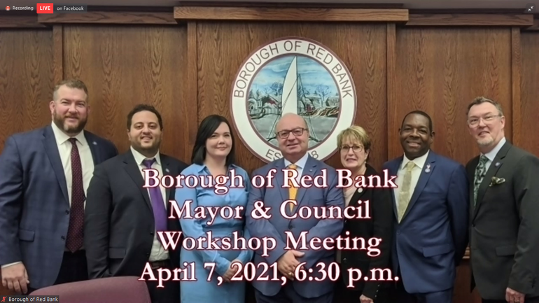 Red Bank Workshop Council Members Joust on Sr. Center ROSI Designation