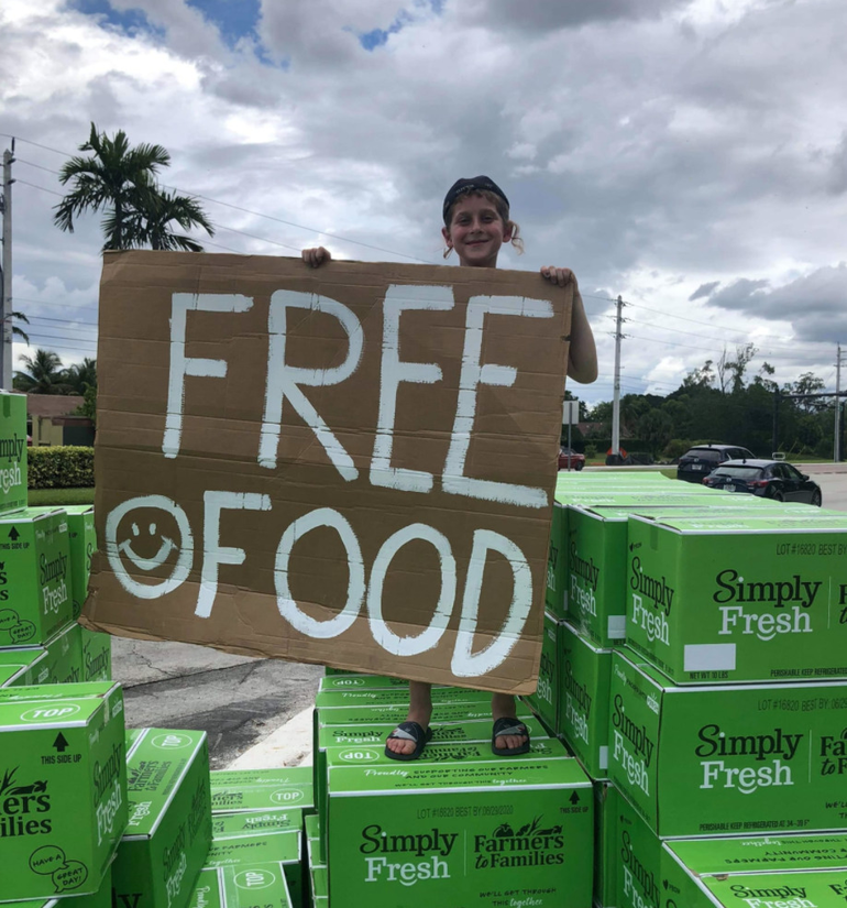 Free Produce To Be Given Out in Coral Springs on Wednesday At Chabad Center