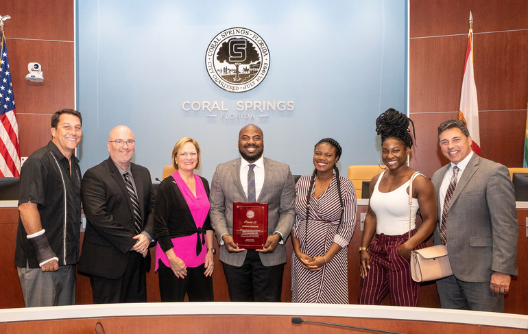 Coral Springs Honors First African-American City Commissioner