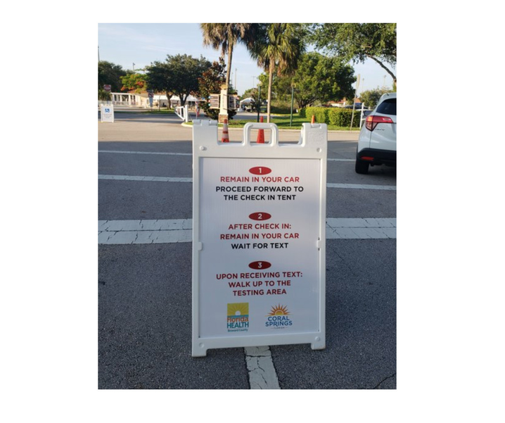 Public Coronavirus Testing Sites in Coral Springs and Elsewhere To Remain Closed Until Early Next Week