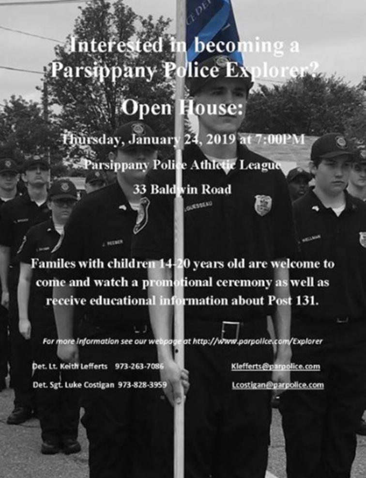 Parsippany Police Explorer Open House