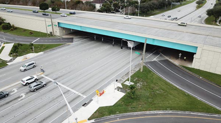 Painting of State Road 7 Bridges Will intermittently Close Sample Road in Coral Springs