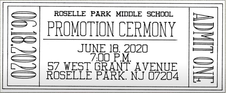 Grad Ceremony Virtual Ticket