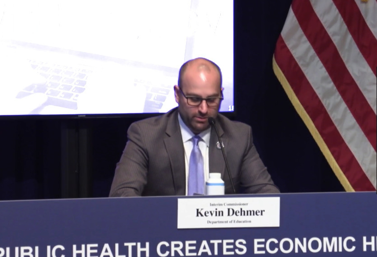 Kevin Dehmer New Jersey Education