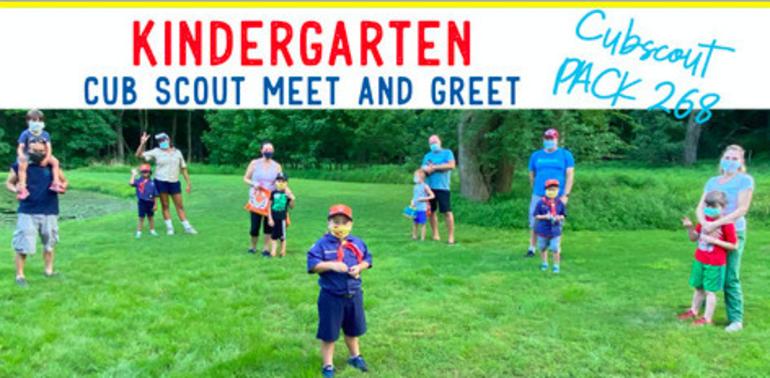 Kindergarten Cub Scout Meet and Greet, Sunday, April 18