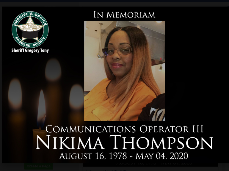 Coral Springs Police Mourn Death of 911 Communications Operator From Coronavirus