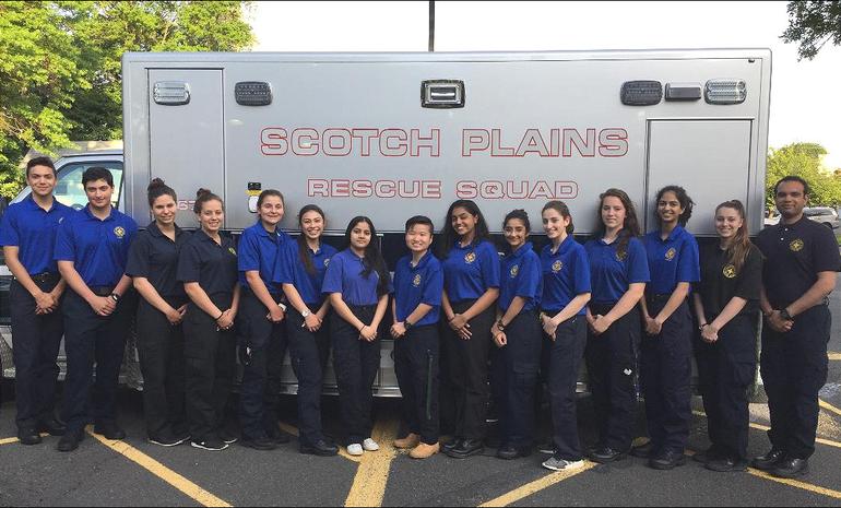 Scotch Plains Rescue Squad members 2018