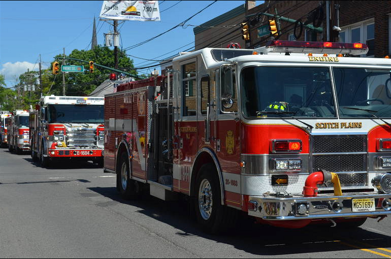 Scotch Plains Fire Truck Parade 2019 - 150th anniversary.png