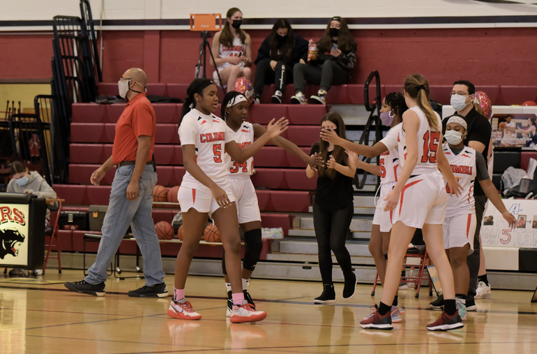 Cougars Varsity Girls Basketball Team named Essex County Team of the Year and Coach Keegan Also Honored as Coach of the Year