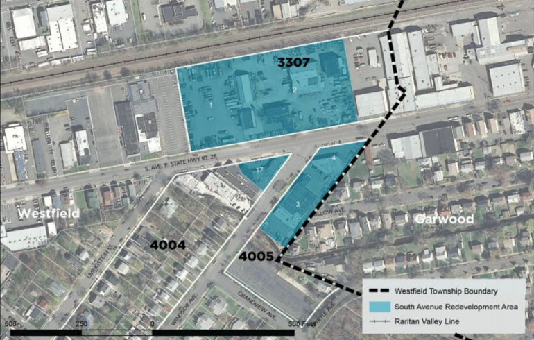 south avenue redevelopment area town of westfield