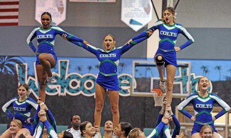 Coral Springs High School Cheerleaders Gallop to State Finals