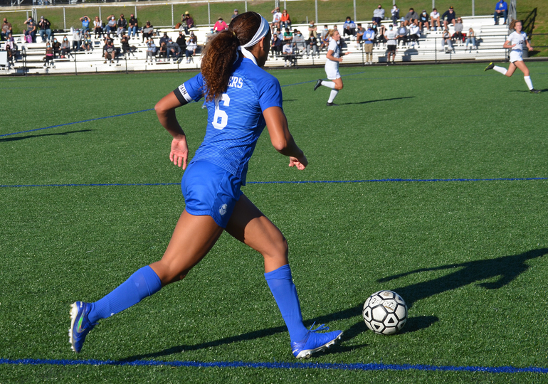Scotch Plains-Fanwood's Corinne Lyght controls the ball (1).png