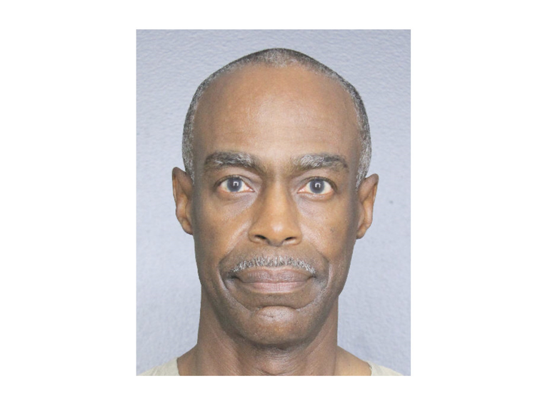 The photo of Broward County Schools Superintendent Robert Runcie at Broward County Jail.