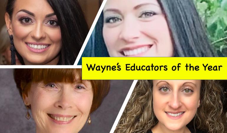 Wayne BOE Celebrates School Educators of the Year – Elementary