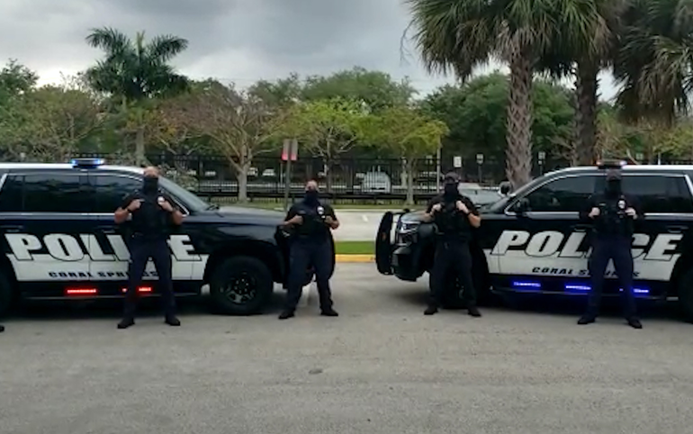 Coral Springs Police Celebrate Children's Birthdays With Videos, Not Drive-by Parades
