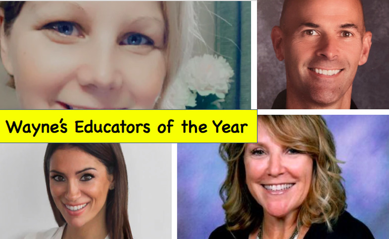 Wayne BOE Celebrates School Educators of the Year – Middle and High Schools